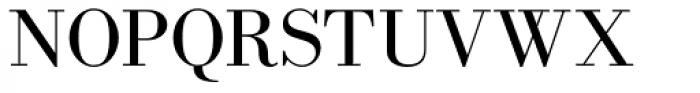 New Bodoni DT Regular Font UPPERCASE