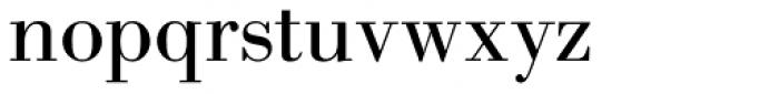 New Bodoni DT Regular Font LOWERCASE