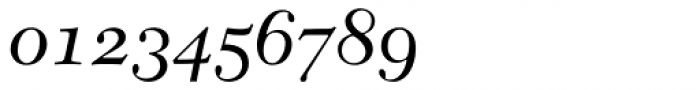 New Caledonia Italic Old Style Figures Font OTHER CHARS