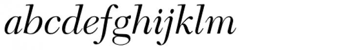 New Caledonia Italic Old Style Figures Font LOWERCASE