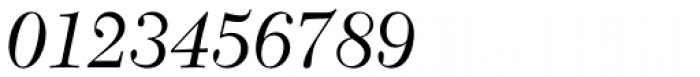 New Caledonia Italic Font OTHER CHARS