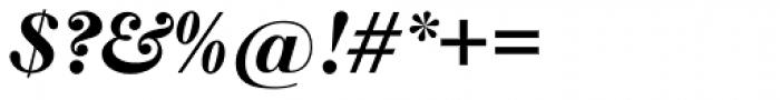 New Caslon SB Bold Italic Font OTHER CHARS