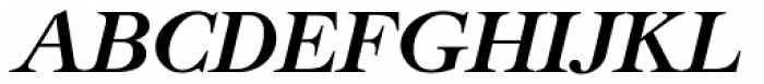 New Caslon SB Bold Italic Font UPPERCASE