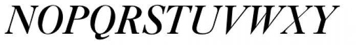 New Caslon SB Medium Italic Font UPPERCASE