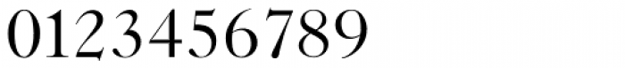 New Caslon SB Roman Font OTHER CHARS