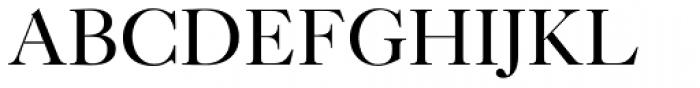New Caslon SB Roman Font UPPERCASE