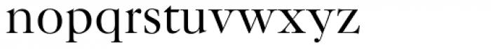 New Caslon SB Roman Font LOWERCASE