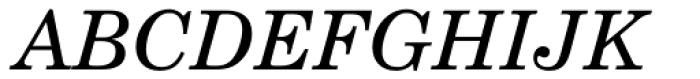 New Century Schoolbook Greek Italic Font UPPERCASE