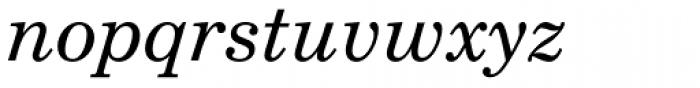 New Century Schoolbook Greek Italic Font LOWERCASE