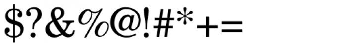 New Century Schoolbook Pro Roman Font OTHER CHARS