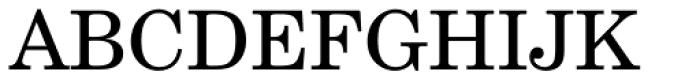 New Century Schoolbook Pro Roman Font UPPERCASE