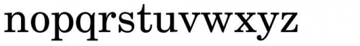 New Century Schoolbook Pro Roman Font LOWERCASE