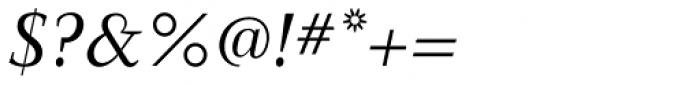 New Clear Era Italic Font OTHER CHARS