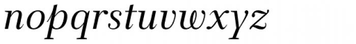 New Clear Era Italic Font LOWERCASE
