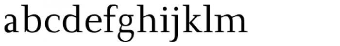 New Clear Era Regular Font LOWERCASE