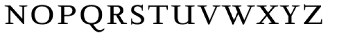 New Clear Era Smallcaps Font LOWERCASE