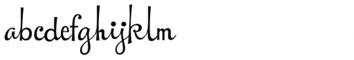 New Cuisine Font LOWERCASE