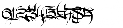 New English Font OTHER CHARS