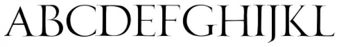 New Horizon Titling Light Font LOWERCASE
