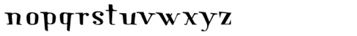 New Lanzelott Crazy Font LOWERCASE