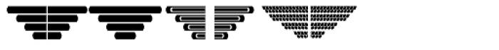 New Lanzelott Dingbatz Font UPPERCASE
