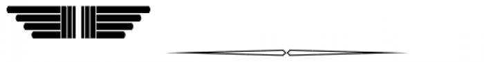 New Lanzelott Dingbatz Font LOWERCASE