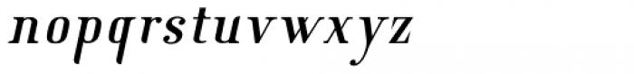 New Lanzelott Regular italic Font LOWERCASE