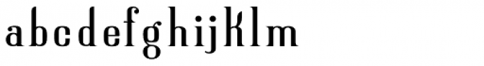 New Lanzelott Regular peak Font LOWERCASE