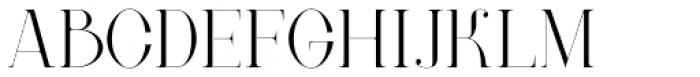 New Lanzelott Thin Font UPPERCASE