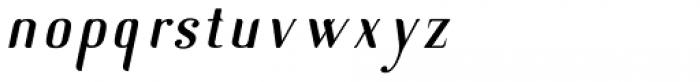 New Lanzelott sans italic Font LOWERCASE
