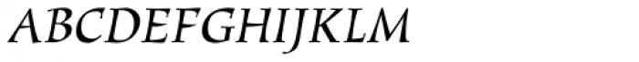 New Marigold SXSN Italic Font UPPERCASE