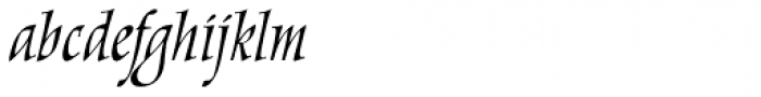 New Marigold SXSN Italic Font LOWERCASE