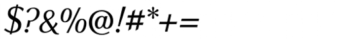 New Millennium Italic Font OTHER CHARS