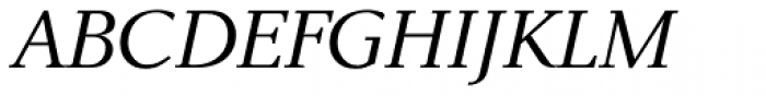 New Millennium Italic Font UPPERCASE
