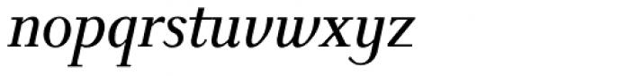 New Millennium Italic Font LOWERCASE