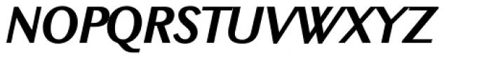 New Millennium Sans Bold Italic Font UPPERCASE