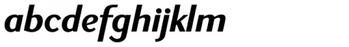 New Millennium Sans Bold Italic Font LOWERCASE
