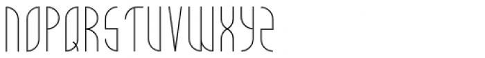New Moon Light Font UPPERCASE