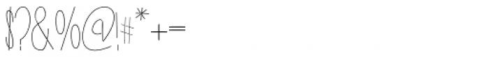 New Slang Font OTHER CHARS