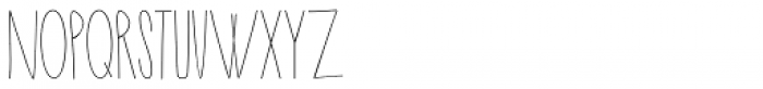 New Slang Font UPPERCASE