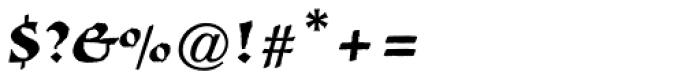 New Visigoth RXSN Regular Font OTHER CHARS