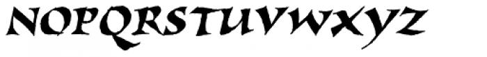 New Visigoth SXSN Italic Font UPPERCASE