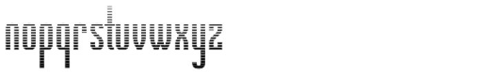 New Wave Overlay Font LOWERCASE