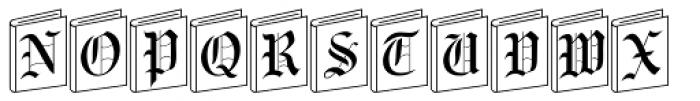 NewLibrary Font UPPERCASE
