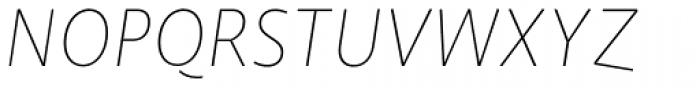 NewLibris Fine Italic Font UPPERCASE