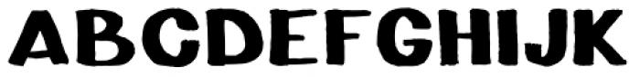 NewMarker Font UPPERCASE