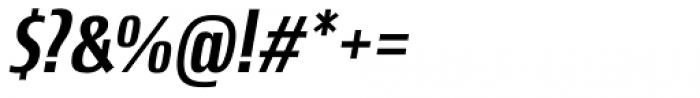 Newbery Sans Pro Cd Medium Italic Font OTHER CHARS