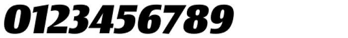 Newbery Sans Pro Extra Bold Italic Font OTHER CHARS