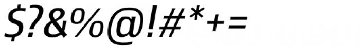 Newbery Sans Pro Regular Italic Font OTHER CHARS