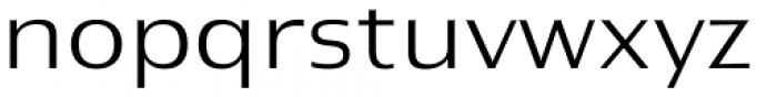 Newbery Sans Pro Xp Light Font LOWERCASE